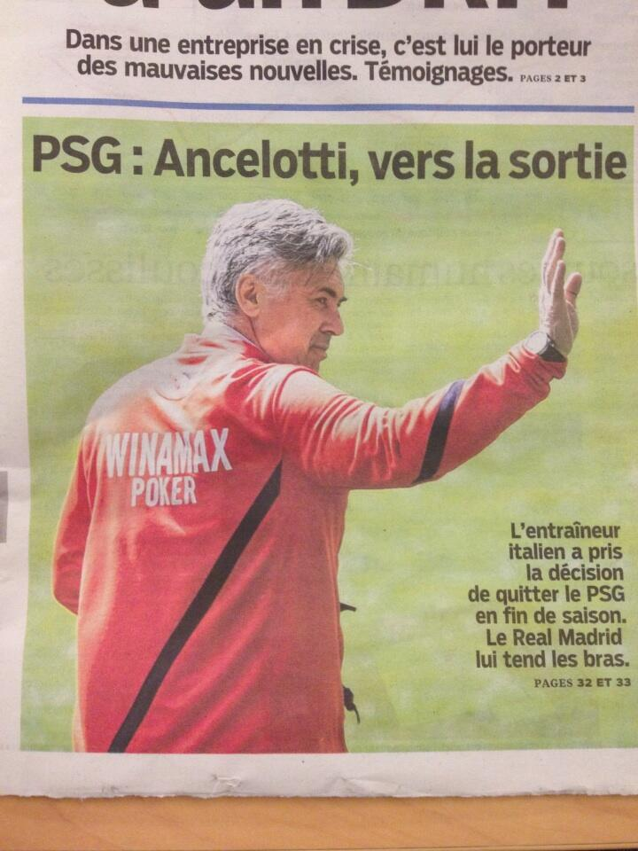 Le Parisien: Ancelotti out of PSG in June, Carlo wants Madrid job as Arsenal & Man City circle