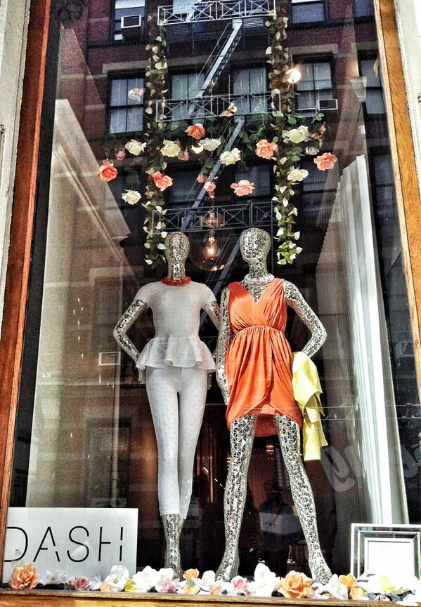 Loving our new window display! #springonspringstreet