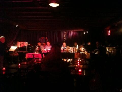 Valley Ponomarev @ZincBarNY. Hat lange bei Art Blakey gespielt und mir seine Biografie sehr nett signiert. #Jazz #NYC http://t.co/svvn1HGjmj