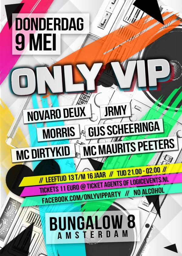 """@ONLYVIPparty: LUISTER NU NAAR @MixcueRadio EN WIN 2 TICKETS VOOR ONLY VIP! http://t.co/W5Z4ANCHyI"""