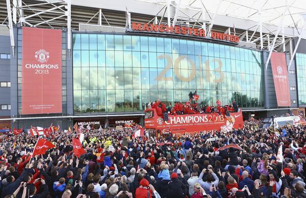 Así se encuentra Old Trafford en estos momentos http://t.co/raDwkw4tIo