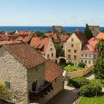 【スウェーデン】ヴィスビー(Visby)。スウェーデン南西部に位置する、バルト海で最も大きな島のゴトランド島にある街。「