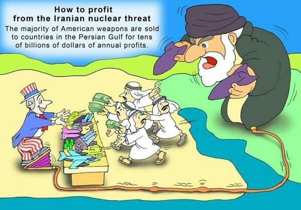 محمد الأحمري (@alahmarim): صورة معبرة عن ابتزاز الخليج بطريقة بدائية عملية