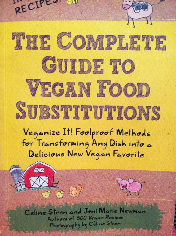 RT @VeggieWHAT: My mom says this book has a ton of great recipes. #vegan #momknowsbest http://t.co/rH7FnFGElH