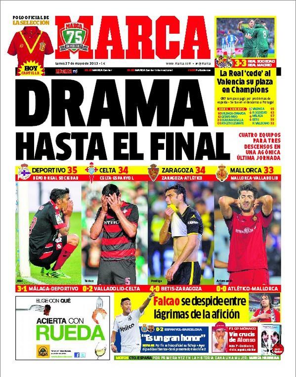 #LaPortada 'Drama hasta el final' http://t.co/HRgL9MYo3k