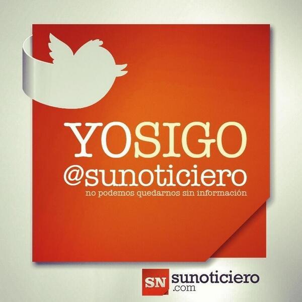 SuNoticiero (@SuNoticiero): Seguidores favor hacer RT a esta imagen: http://t.co/mfHTG2bzrk