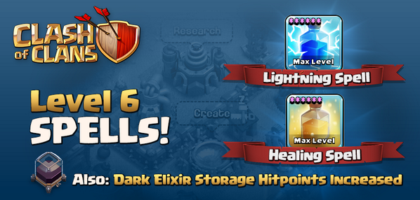 Deal epic damage, and heal it too! Introducing the new MAXED OUT level 6 Lightning and Healing Spell. RT for magic! http://t.co/jqc05WXUkX