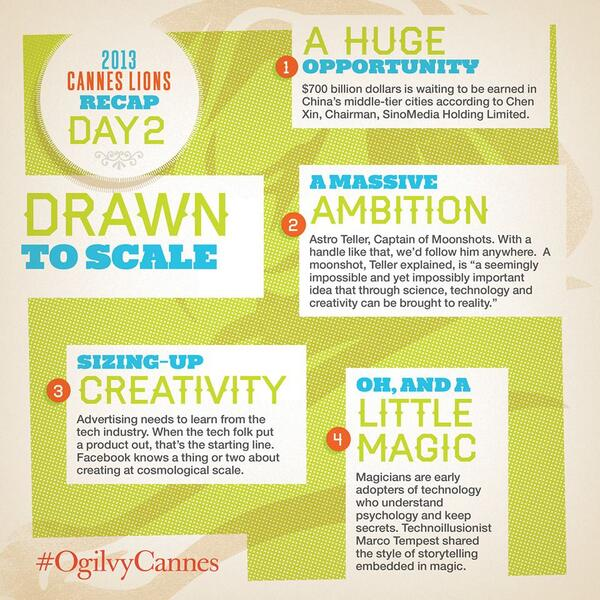 Key Takeout of Day 2 Recap at #CannesLions http://t.co/1qdCaRByzo #3. Iteration, start applying it to your campaigns now!
