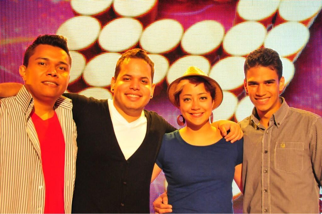 Honduras no ha tenido expulsados en #AcademiaCentroamerica. Aquí los 4 cantantes. @canal11hn @canal9cr @Canal_12 http://t.co/IYZ6Nmlb3r