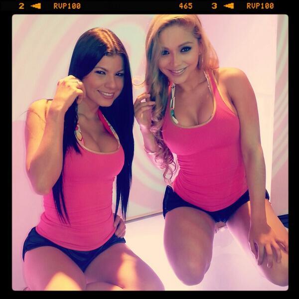 LinitaGonzalez (@LINITAMARGARITA): Las gogo ayer grabando... http://t.co/ilAmg9hUjG