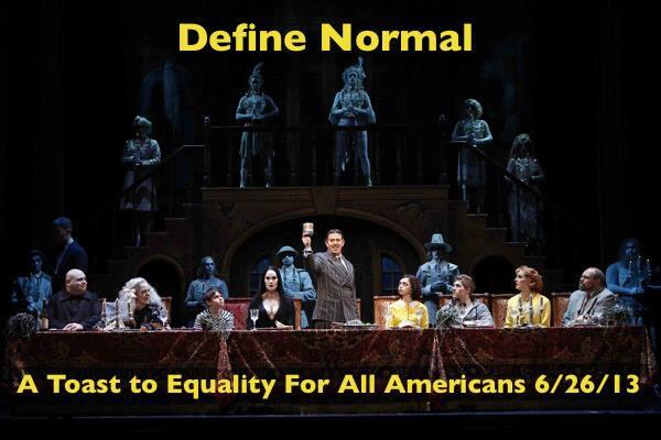 "Define ""Normal"" #equality http://t.co/I91Be9Kife"