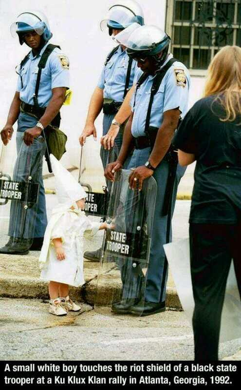 RT @danny_harper123: @rickygervais  nobody is born hating another race.  #EqualityStreet http://t.co/kP53Ie3KES