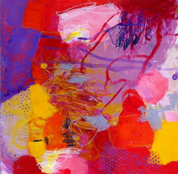 NEW #abstract #painting 'Chaos is Beautiful' http://t.co/je2j2lXup8