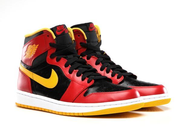 Keep your kick game fresh this year with our 'Black/Gym Red–University Gold' AJ 1 Retro High OG that hits on 9/7: http://t.co/ePCrN20jUm
