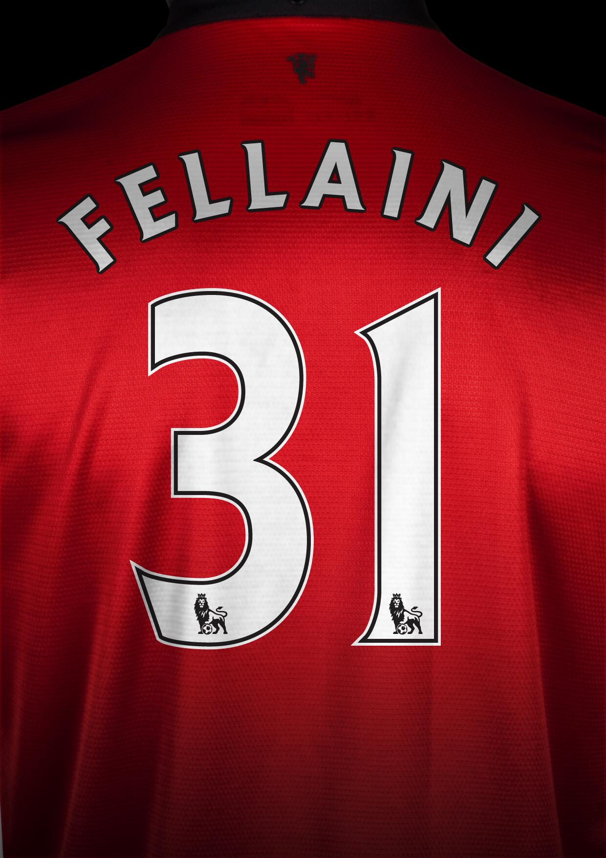 Marouane Fellaini will wear No.31 at Manchester United - so the No.7 shirt remains vacant. http://t.co/tP3pa1PKOF #MUFC (via @ManUtd)