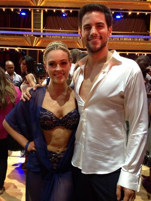 Did you love @brantdaugherty & @petamurgatroyd's sexy dance?! Vote #TeamBrant if you did! http://t.co/uFrblP9fvO