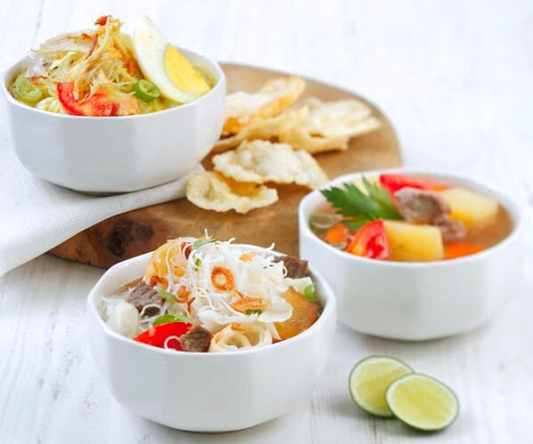 #foodie RT@CrownePlazaJkt: Visit Beranda Cafe and enjoy selected choice of authentic Indonesian Soto among our buffet http://t.co/2VuXiO7QMU