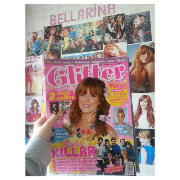 RT @ThorneMarina: @bellathorne I bought this magazine and omg u r so perfect http://t.co/Om8yBgfUrE