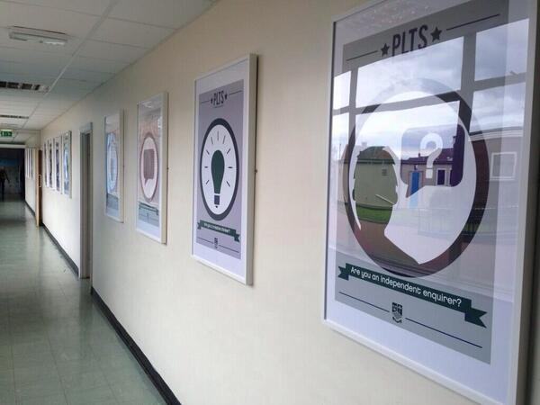 Plts posters all up on the wall http://t.co/CG8gqibCX1