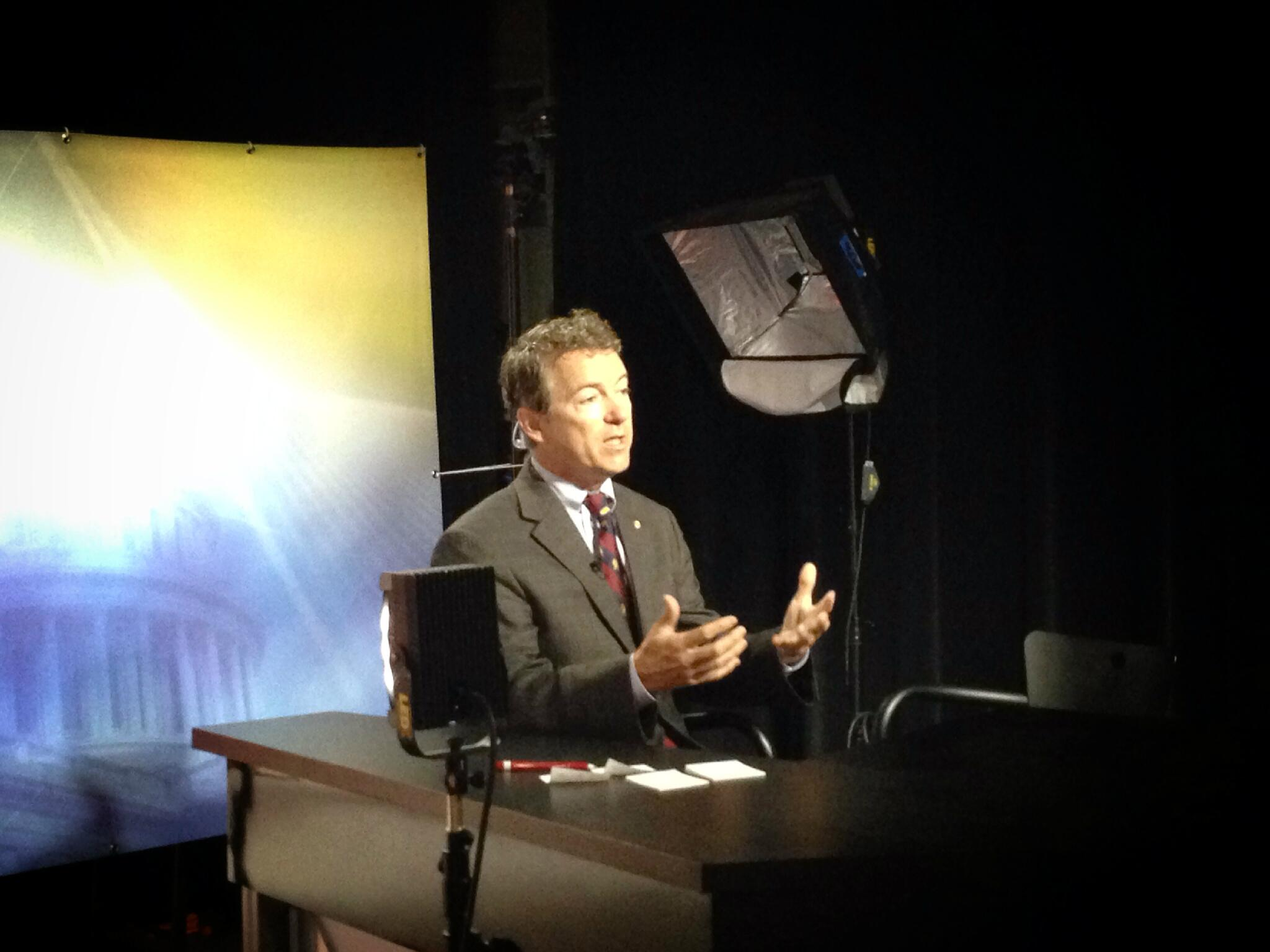 Thanks to WKYU's Jessica Gibbs and colleagues at PBS affiliate in Western Kentucky with #MTP interview today. http://t.co/ALBZ0uMJH4