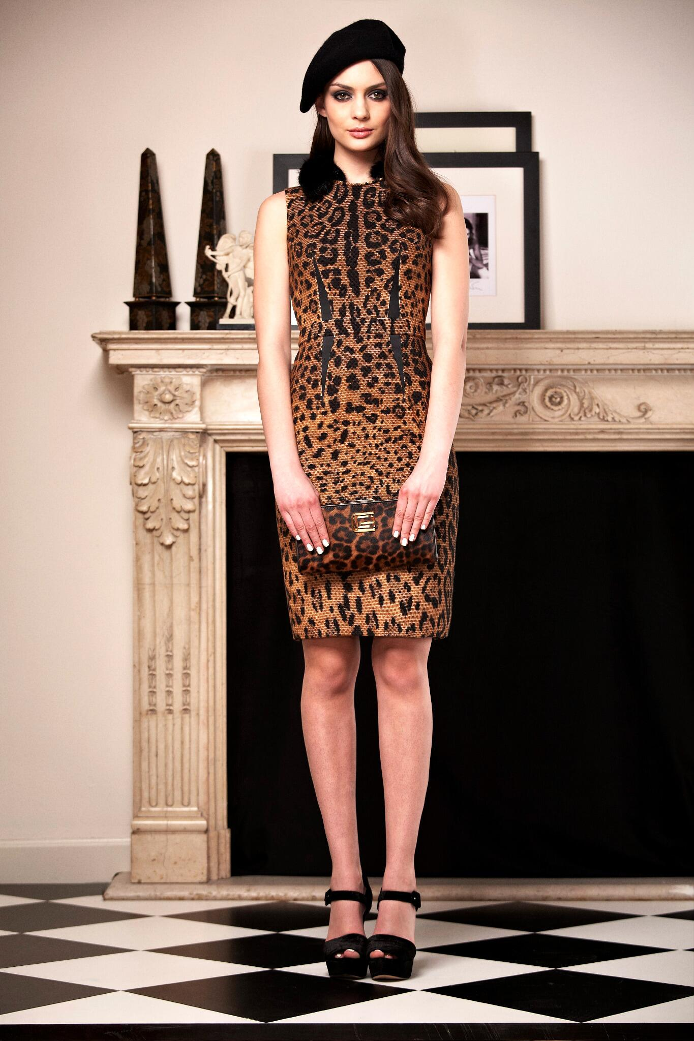 Leopard chic and ladylike details for the uptown girl of the Cavalli Class FW 2013 collection. http://t.co/YN5GGhjb0B