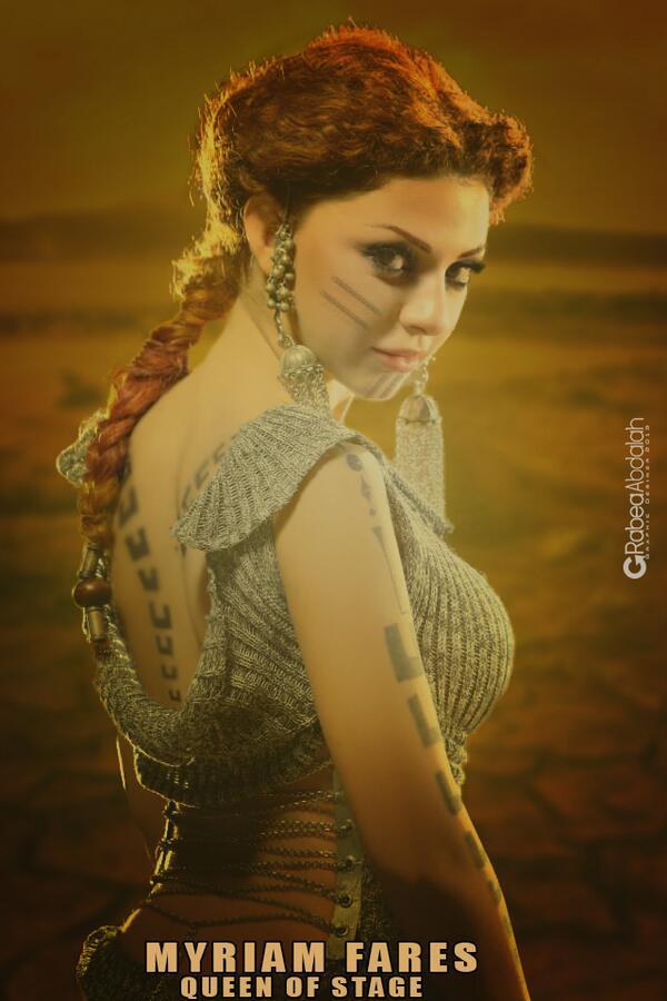 "Cool RT ""@RokaaaElissian: @myriamfares QueenOfStage .. New Poster .. Hope u like http://t.co/sZSVt3v5Rv"""