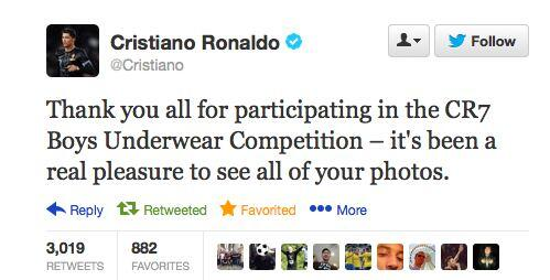 BXMi QzCMAExf67 Cristiano Ronaldo publishes the worst Tweet of the season!
