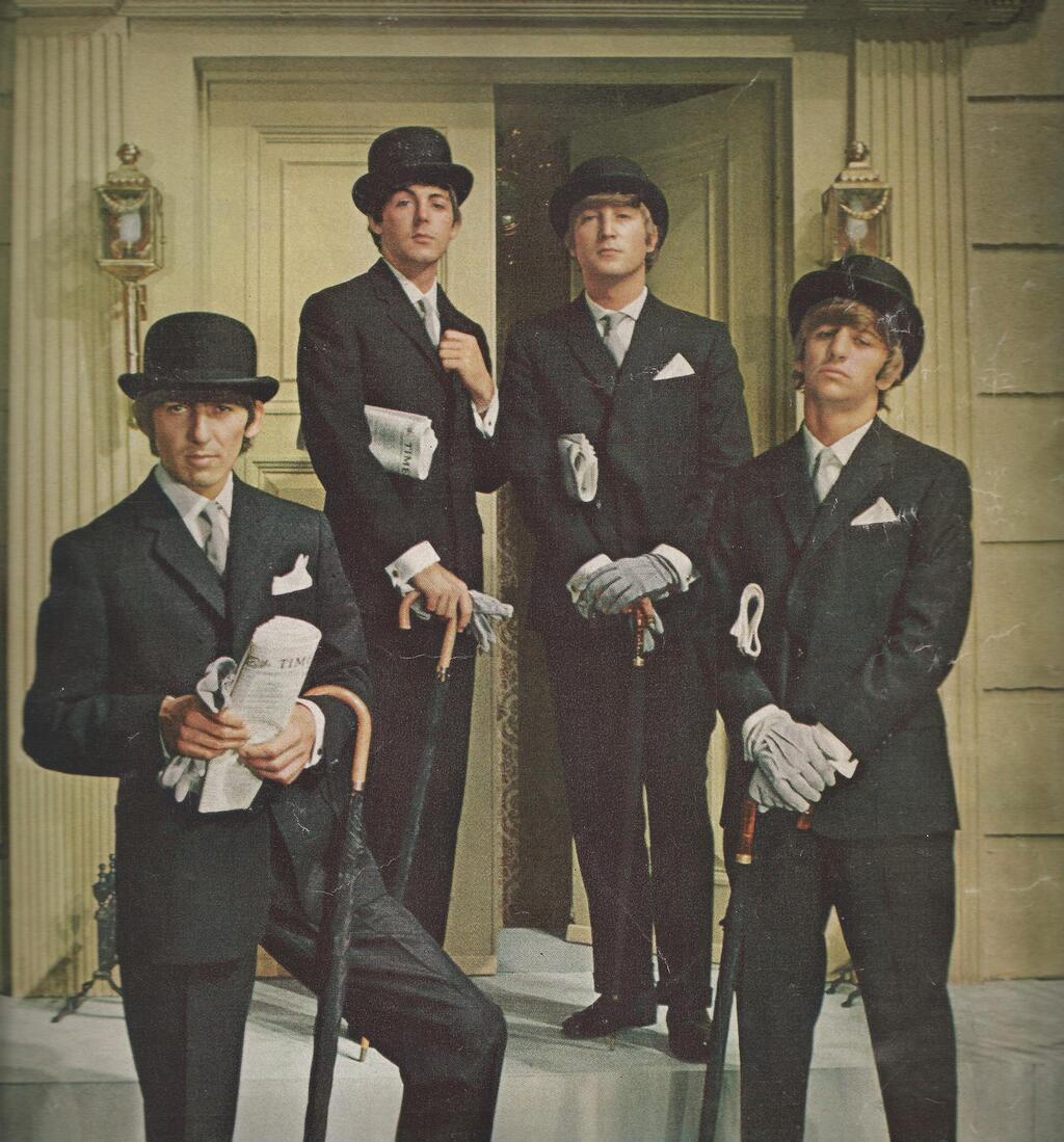The Beatles were a suave bunch weren't they? http://t.co/6qvShvL6xD
