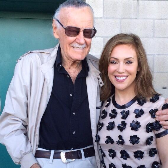 This man is a God! @TheRealStanLee http://t.co/zZb89PvIB2