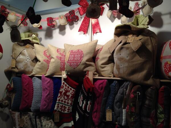 Day one of @Living_North Xmas fair done ... Santa sacks sold out but two. http://t.co/pGnslX4udy