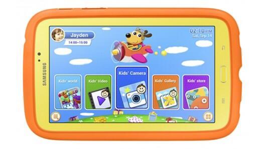Смотрите, вот какая штука скоро будет. GALAXY Note 3 Kids (да, длинно получилось). Приучай ребенка к Android смолоду. http://t.co/X2GOH8ITdv