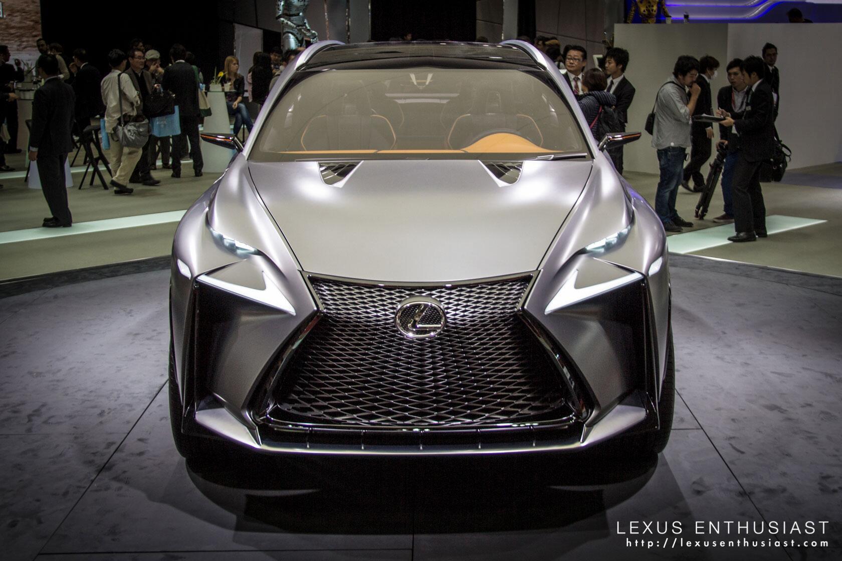 9 32pm the lexus rc tri l headlight for Tokyo motor show lexus