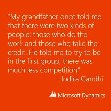 RT @MSFTDynamics: Our Friday mantra. What's yours? http://t.co/pbe3e1hFEV