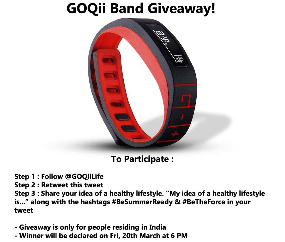 Here's a chance to win a @GOQiiLife fitness band! Just follow the instructions mentioned in the pic. #BeSummerReady http://t.co/5bhdIGgIPB