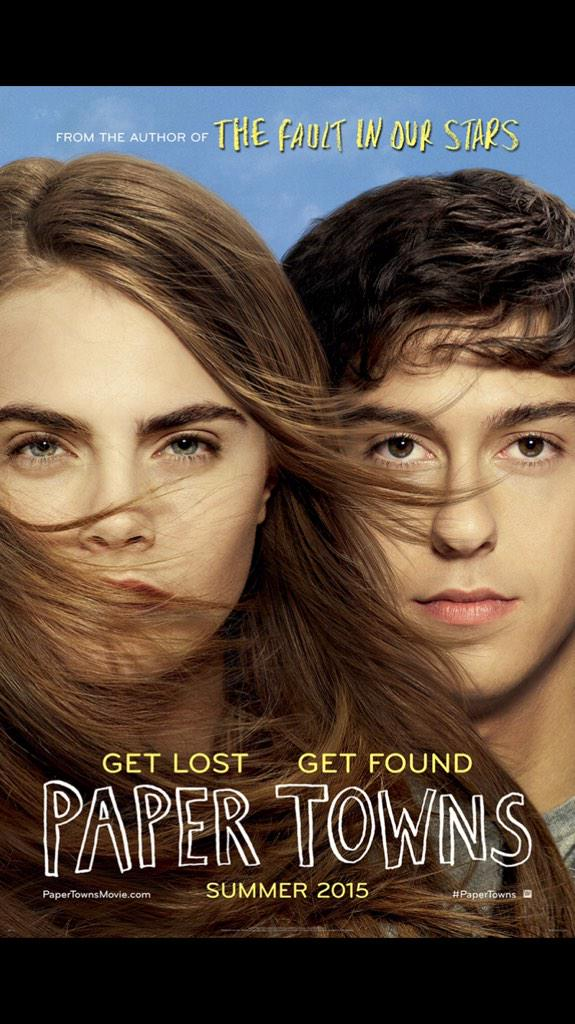 The @PaperTownsMovie poster is here! #PaperTowns http://t.co/nFOY4NGwRR