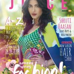 RT @PearlShah: The spring fashion issue of #thejuice with @shrutihaasan now LIVE! Read it http://t.co/TOtCgDDbLx Temme what u think http://…