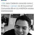 Jairo Calderón uno de los q entro disparando en la #ULA #Merida http://t.co/U8u8dINeNM DIFUNDE @reiaresnd @La_KapuchaV @kike230 @Maruja0204