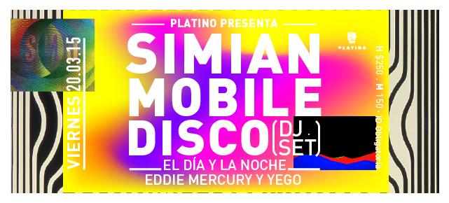 ¡Simian Mobile Disco (@smdisco)  el 20 de marzo! #Save ---> http://t.co/RwNc4oqDF9 http://t.co/vfMEzflLRg