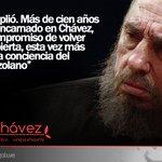 Fidel Castro: Bolívar cumplió. Más de cien años después, reencarnado en Chávez http://t.co/bDE0APrjji
