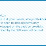 Here are the T&C for the #ConnectWithDell #contest: RT & spread the word. #ContestAlert http://t.co/y4x3BNJqdS