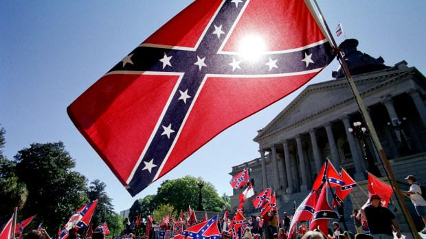 Good. RT @Hatewatch: California Bill Banning State Sale Of Confederate Flag Passes http://t.co/16rekUxXlq http://t.co/i0kNvEe1to