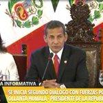 "Presidente Ollanta Humala: ""La democracia sin diálogo no funciona"". ►http://t.co/NLuvhIGShw http://t.co/XodmL3YNlX"