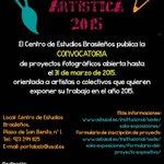 Residencia Artística 2015 en @cebusal @usal Más información: http://t.co/NrBnsJaHnx http://t.co/3rbybAgr9r