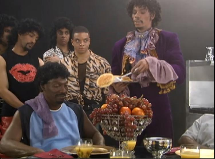 Oh shit it's #NationalPancakeDay! No one makes them quite like Prince! #CharlieMurphysTrueHollywoodStories #Blouses http://t.co/okEPAWwhZb