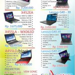 Cari laptop dan part laptop......ya di SOLOLAPTOP Jln.Slamet Riyadi 624 Jajar-Kleco 741266 atau 08562659544 promo... http://t.co/T0kOpR98Vr