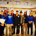 Best of luck to our indoor track national qualifiers who left today for Geneva, Ohio. Meet begins Thursday. #battleon http://t.co/9crwZAXqjz