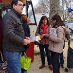 Canton 1. Marché du mercredi . A la rencontre des Celleneuvois. #departementales2015 @AbdiElkandoussi http://t.co/CaMRiUfLe2