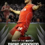 Congratulations to @JHenderson, who you voted as #LFCs man of the match in the 2-0 win over Burnley at Anfield http://t.co/p5nP2s2QNv