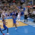 VIDEO: A masked Russell Westbrook goes the length of the court & explodes for a 2-handed dunk http://t.co/qK8W1vDMTy http://t.co/WmOdWK3d8f