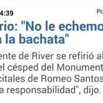 Ni la bachata ni el Romeo Santos, a nuestra cancha la poceó la corrupción. http://t.co/9tKyMQQds1